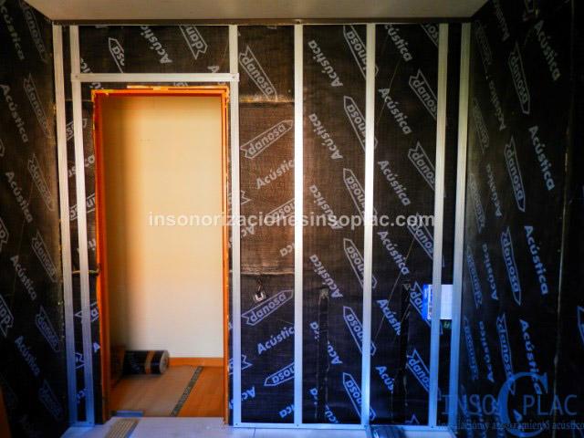 Insonorizaci n para m sicos insoplac - Insonorizar una pared ...