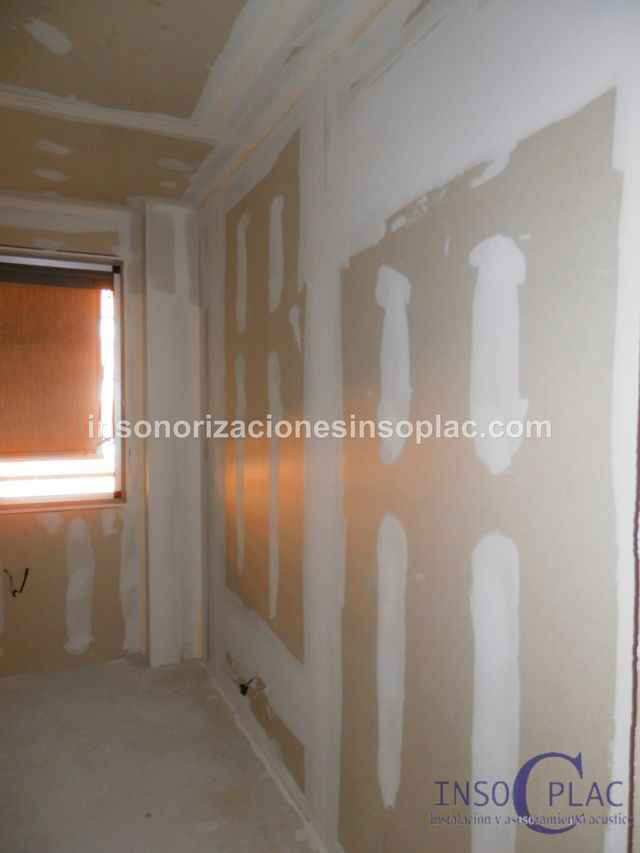 Insonorizar pared insoplac - Insonorizar una pared ...