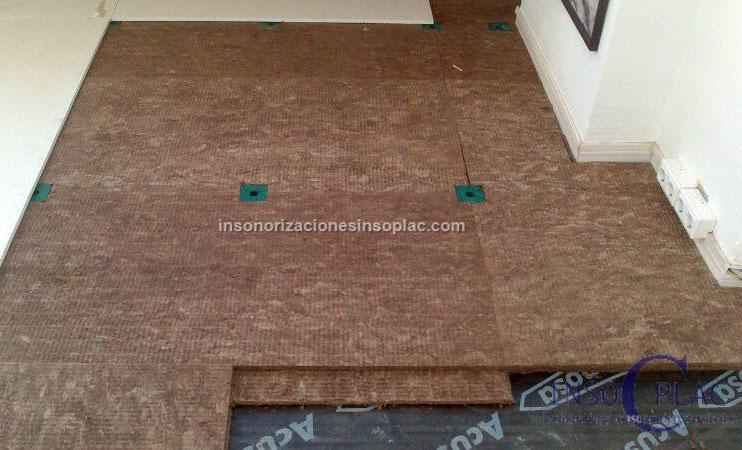 Insonorizar suelo insoplac - Aislante acustico para suelos ...