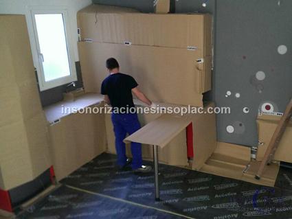 Materiales de construcción ecológicos: Insonorizar habitacion techo