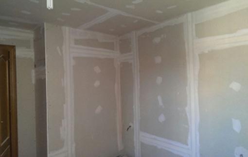 Insonorización de techo + paredes